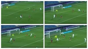 El típico gol de Mbappé que es una auténtica locura: 'Soy como Ronaldo y hago lo que quiero'