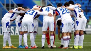 Los jugadores del Eibar se crecen ante la adversidad, como hicieron...
