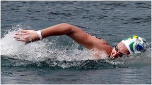 Paula Ruiz, en una competición.