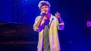 Blas Cantó, representante español en el Festival de Eurovisión 2021...