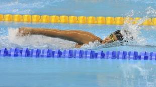 Teresa Perales, en los Juegos Paralímpicos de Río.