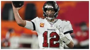 Tom Brady durante la última Super Bowl.