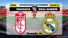Granada Real Madrid LaLiga