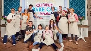 Los concursantes de la primera edición de 'Celebrity Bake...