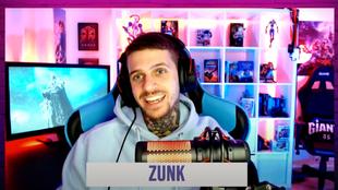 Zunk, durante un momento de la entrevista