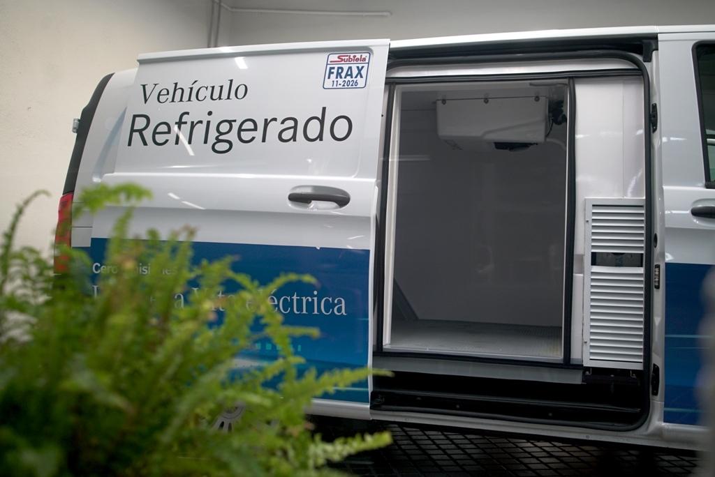 La Mercedes-Benz eVito para empresas frigoríficas.