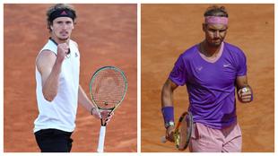 Rafa Nadal - Zverev Masters Roma 2021