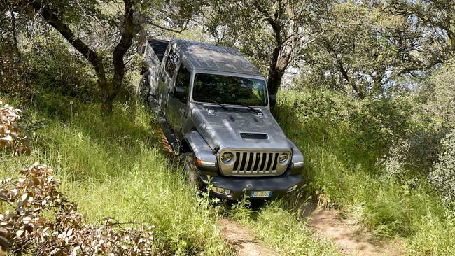 El Jeep Gladiator es un 4x4 auténtico con excelentes capacidades...