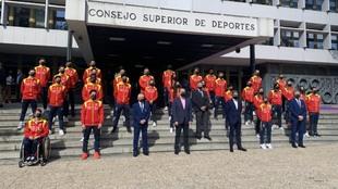La expedición española que competirá en el Europeo de Porec.