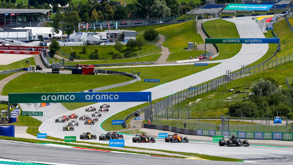 Una reciente cita de F1 en el Red Bull Ring.