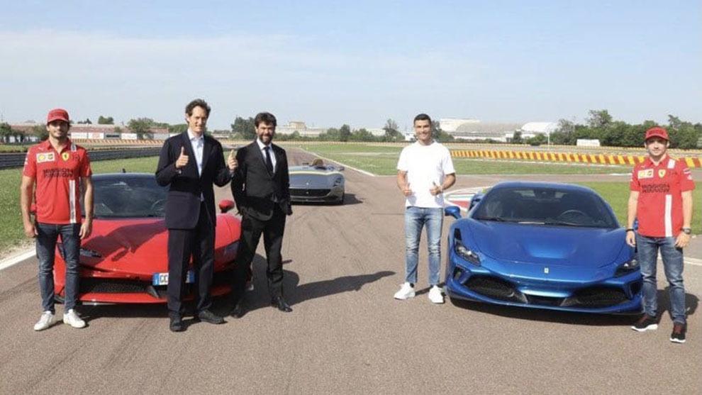 Cristiano, Sainz, Leclerc... y tres Ferrari de 2,5 millones que suman 2.500 CV
