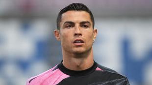 Cristiano Ronaldo en un juego con la Juventus.