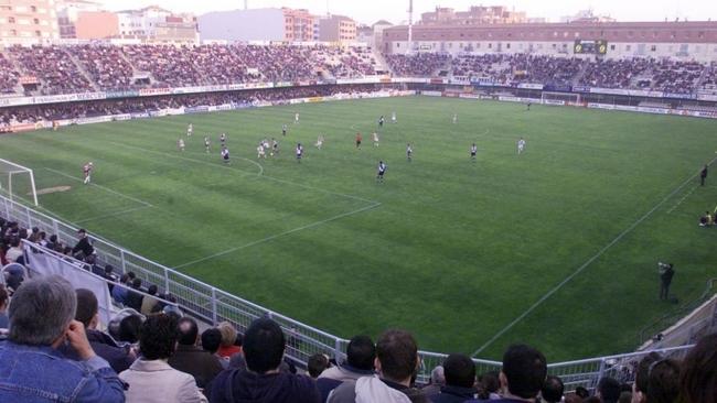 Vista general del estadio de Castalia durante un partido