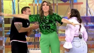 Rafa Mora y Anabel Pantoja, suspendidos de 'Sálvame'.