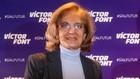 María Teresa Andreu durante un acto de campaña de la candidatura de...