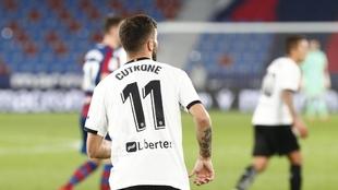 Cutrone jugó unos minutos ante el levante en el Ciutat.