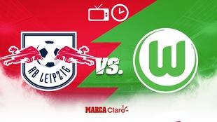 ¿Cómo, cuándo y dónde ver el RB Leipzig vs Wolfsburg de...