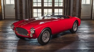 No se fabricó ningún otro Ferrari 340 con este diseño tan sencillo.