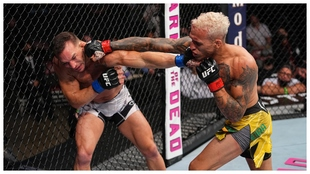 Charles Oliveira es el nuevo campeón del peso ligero de UFC.
