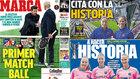Primer 'match ball', la 'cita con la historia' del Barça, tarde de transistores...