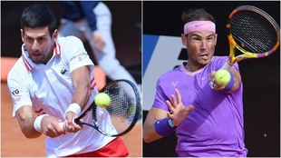 Rafa Nadal Djokovic Final Master Roma en directo en vivo tenis