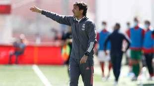Raúl podría llegar al banquillo del primer equipo del Real Madrid.