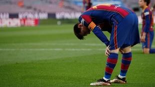 lionel messi y el barcelona se quedaron sin el titulo de laliga