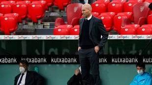 Zidane habla después del triunfo en San Mamés.