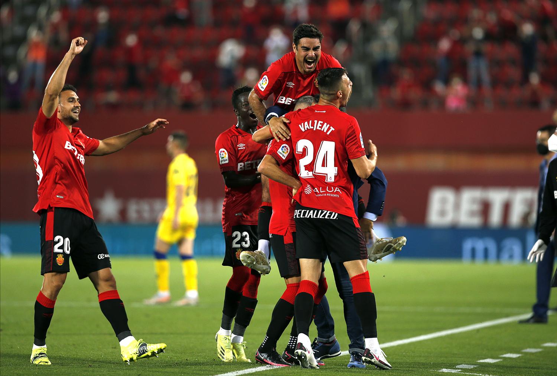 El Mallorca se queda a un punto de certificar de forma matemática su regreso a la Liga Santander.