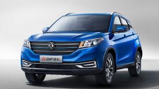DFSK Seres 3, un SUV chino 100% eléctrico,