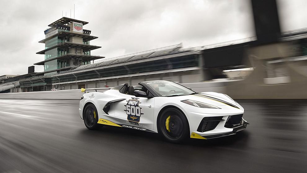 Chevrolet Corvette Convertible - Pace Car - Indy 500 2021 - 500 Millas...
