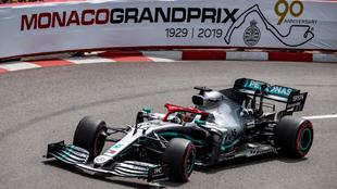 Lewis Hamilton ganó el último Gran Premio de Mónaco (2019).