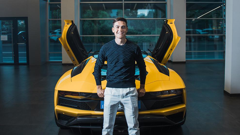 Paulo Dybala - Lamborghini Aventador S - Juventus - 100 goles - coches...