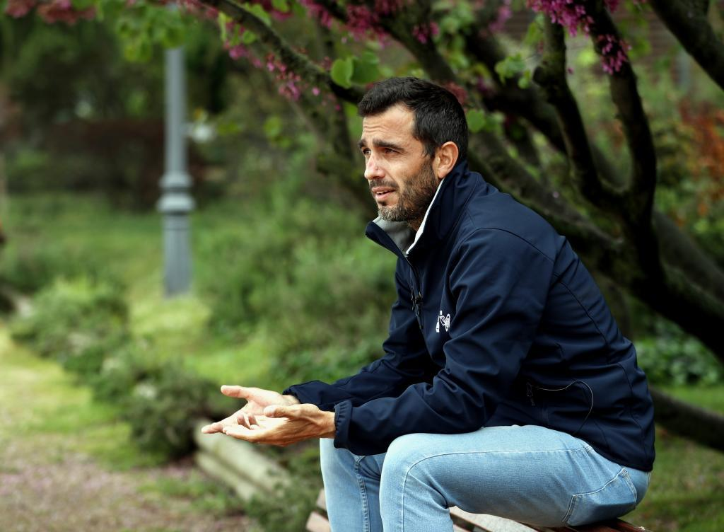 Jesús Buzón, director técnico de la RFEP, durante la entrevista.