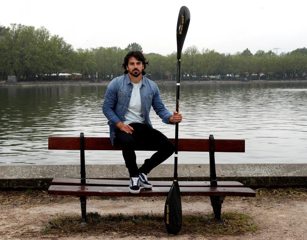 Paco Cubelos, integrante del K2 1.000 que irá a los Juegos.