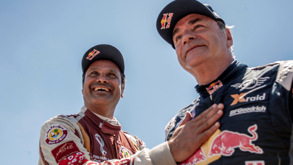 Carlos Sainz - Nasser Al-Attiyah - polémica - Rally Andalucia -...