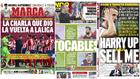 La charla de LaLiga, tocables sorpresa en el Barça...