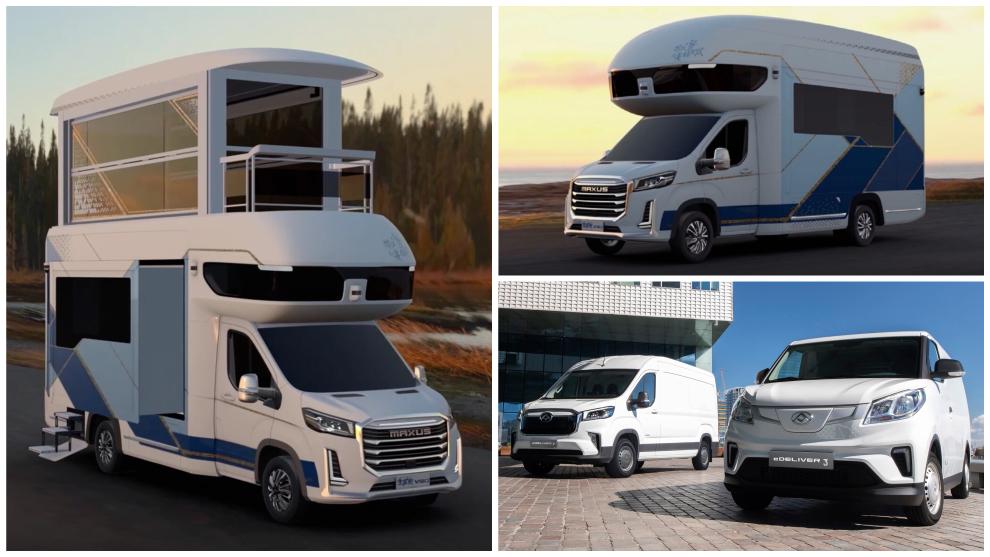 Autocaravana SAIC Maxus Life Home V90 Villa Edition - Maxus eDeliver 3...