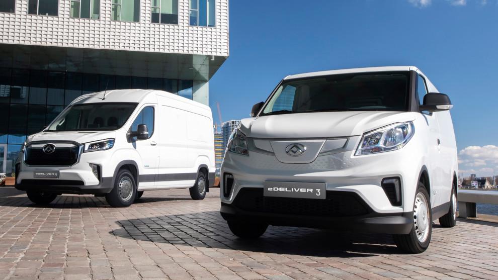 Los furgones eléctricos Maxus eDeliver 3 y eDeliver 9.