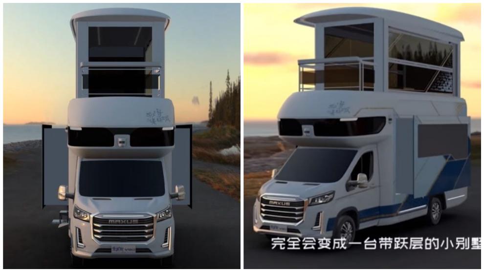 La autocaravana Maxus Life Home V90 Villa Edition sólo está disponible en el mercado chino.
