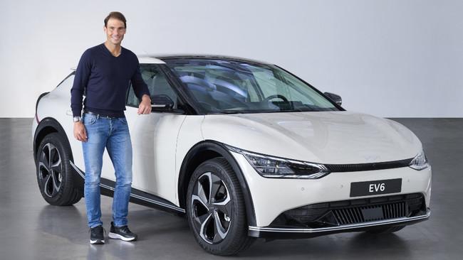 Rafa Nadal ya se ha pedido el deportivo eléctrico EV6