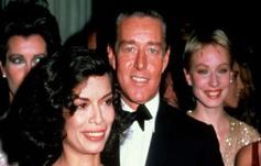 Roy Halston junto con su gran amiga Bianca Jagger.