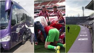 Alerta en Valladolid con la afición del Atleti