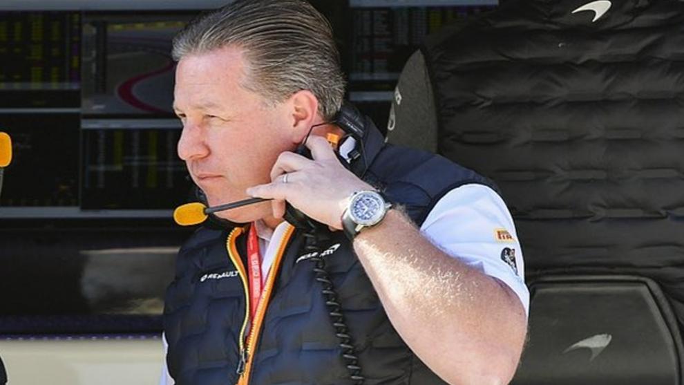 Zak Brown, CEO de McLaren F1.