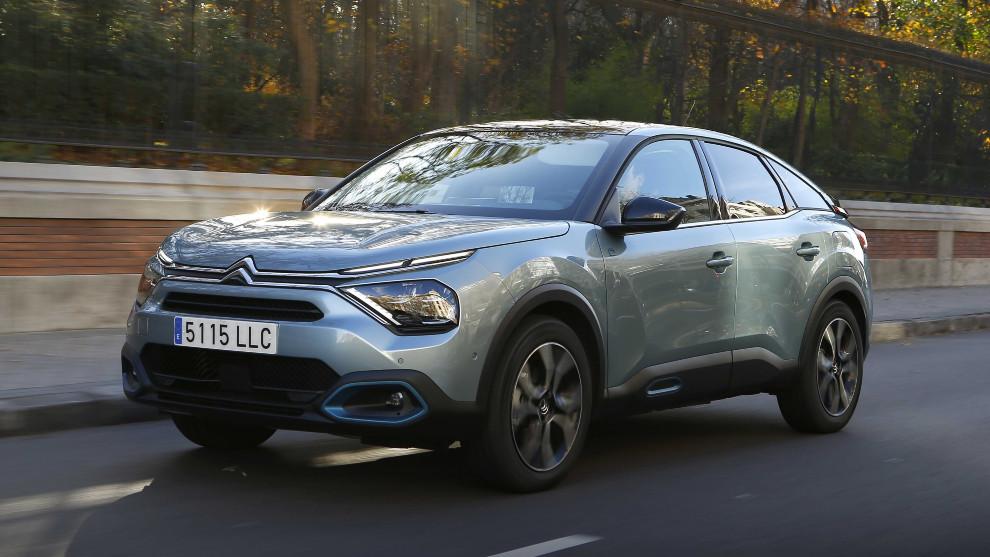 El Citroën ë-C4 tiene una autonomía eléctrica de 350 kilómetros.