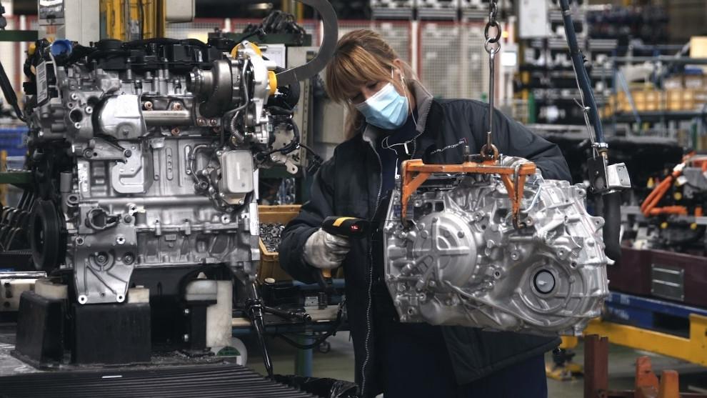 El Citroën ë-C4 supone el 16% de los nuevos C4 que se fabrican en Madrid.
