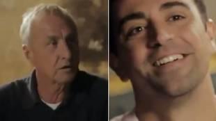 """La lección de Cruyff a Xavi para entrenar al Barcelona: """"Si hay un jugador que te molesta..."""""""