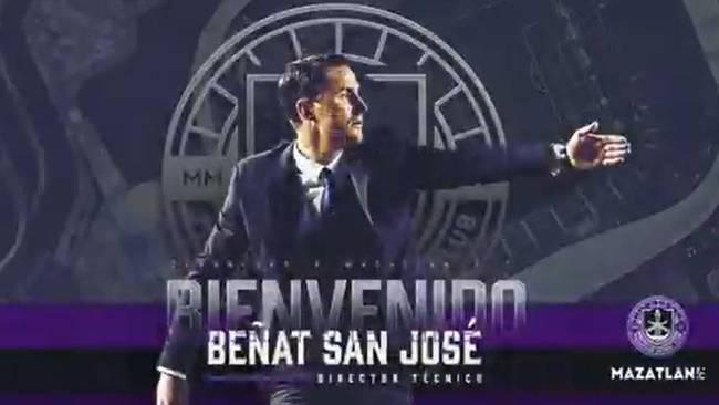 Beñat San José, nuevo entrenador del Mazatlán
