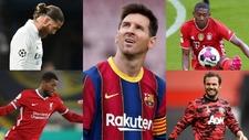 Varios futbolistas que terminan contrato