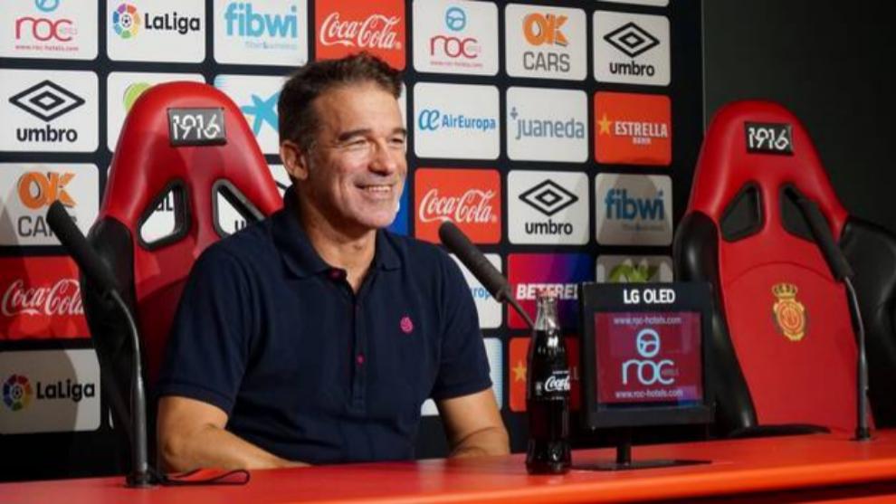 """Luis García Plaza tras el ascenso del Mallorca: """"Estoy inmensamente feliz"""""""